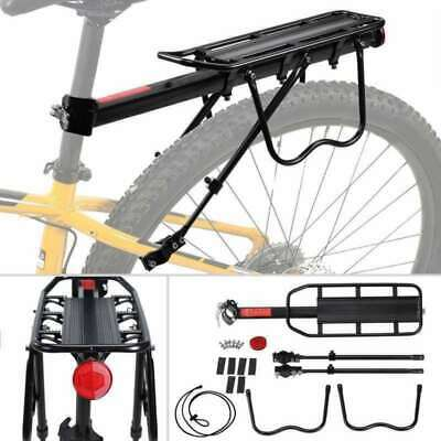 Bike Bicycle Carrier Luggage Rear Rack Mount Adjustable Pannier Cargo Rack NEW