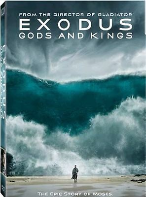 Exodus: Gods and Kings: Story of Moses (Christian Bale) DVD, 2015, Free Sgipping