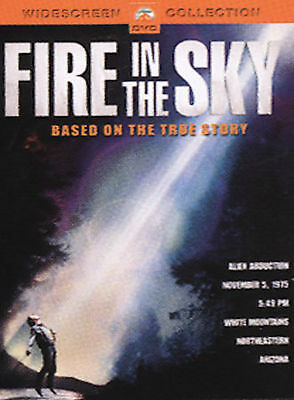 Fire in the Sky (DVD, 2004) UFO Alien Abduction Sci-Fi/ Oop Rare/Disc Mint