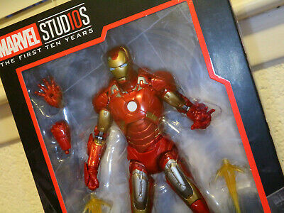 "Marvel Legends 6/"" MCU Studios First Ten Years Iron Man Mark VII 7 Avengers Mint"