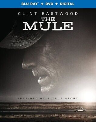The Mule NEW BLU-RAY + DVD + DIGITAL CODE Clint Eastwood PRE ORDER for 4/02/19!