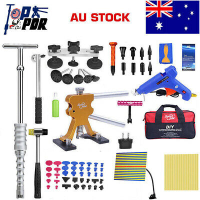 PDR Car Paintless Dent Repair Tool Dint Hail Damage Remover Puller Lifter Kit AU