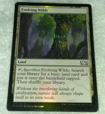 Evolving Wilds Foil MTG x1 Iconic Masters