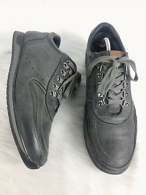 152bb2f618f Steve Madden Men s Grapple Gray Leather Lace Up Sneakers Shoes Size 10.5B
