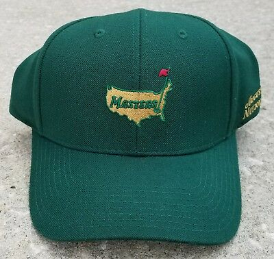 9b15cb7c21c Augusta National Masters Green Embroidered Adjustable Golf Hat Free Shipping