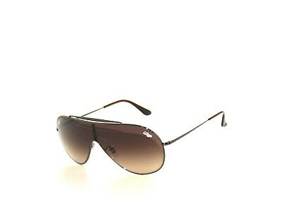 6ff1257acb6 NEW RAY BAN Sunglasses Gunmetal Frame RB 3509 004 13 Gradient Brown ...