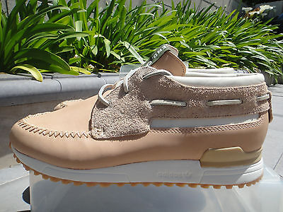 a25cacf4b23f8 ADIDAS X END ZX 700 Boat Leather   Suede Sneakers MSRP  140