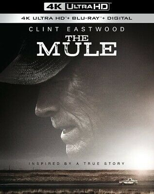 The Mule NEW 4K UHD + Blu-ray + Digital  Clint Eastwood  PRE ORDER for 4/02/19!