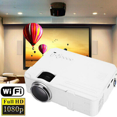 0080 Portable Smart Projector LCD Projector Home Cinema Support 1080P LED Smart