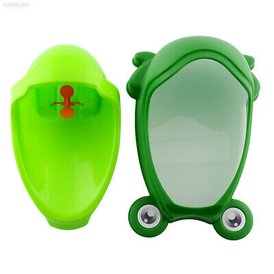 C4D8 Frog-shaped Potty Toilet Urinal Baby Standing Pee Trainer Cartoon Blue