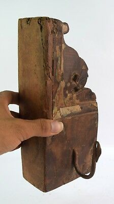 Vintage Solid Wooden Key Hook Hanger handcrafted Farm House Decor. i75-117 AU