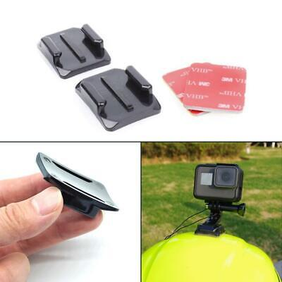 3M Adhesive Sticky Pads Mount Sticker For GoPro Hero 5 4 3+ 3 Curved Base Helmet