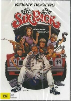 SIX PACK DVD (1982) -KENNY ROGERS-WIDESCREEN,USA FORMAT- Import MOD DVD, DVDR