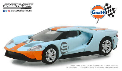 Greenlight 1//64 2019 FORD GT Carbone Série Avec Orange Accent Color Stripe 30039
