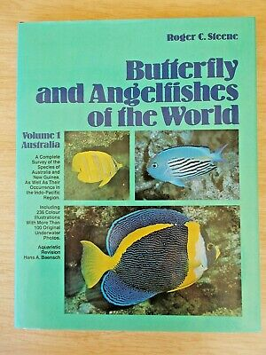 Butterfly & Angelfishes of the World Vol 1~Roger C Steene~144pp HBWC~1978
