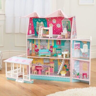 KidKraft Abbey Manor Clever Victorian Dollhouse 65941