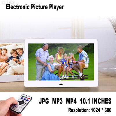 AD73 Durable Electronic Picture Player Digital Photo Frame Remote LCD