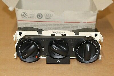 Heater control panel VW Polo 2002-2010 (not all) 6Q0819045P New Genuine VW part
