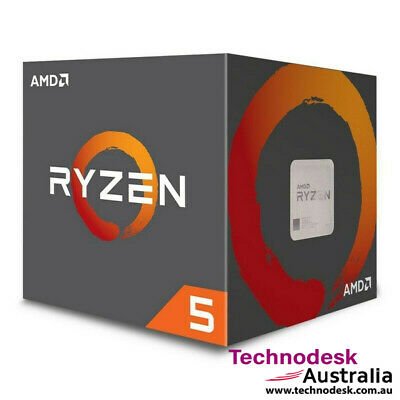 AMD Ryzen 5 2600X, 6 Cores AM4 CPU, 4.25GHz 19MB 95W w/Wraith Spire Cooler Fan B