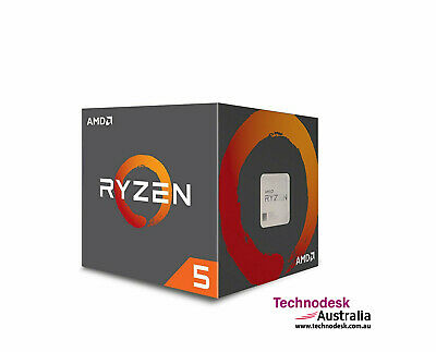 AMD Ryzen 5 2600, 6 Cores AM4 CPU, 3.9GHz 19MB 65W w/Wraith Stealth Cooler Fan B
