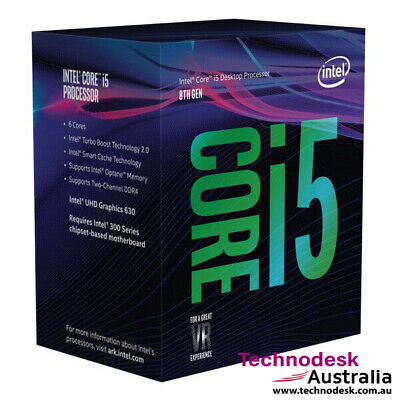 Intel Core i5-8400 2.8Ghz s1151 Coffee Lake 8th Generation Boxed 3 Years Warrant