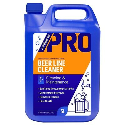 Professional Beer Line Cleaner Pump Tank Maintenance Concentrated PRO Formula 5L