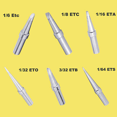 1set Replacement Long Conical Soldering Iron Tip for Weller Stations Wes51 Pes5