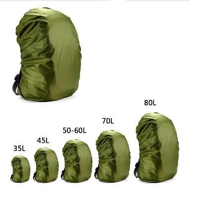 Backpack Pack Tarp Rain Cover Raincoat Solid Color Cover for Backpack MZ