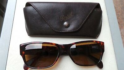 ebd3b5fa947 Vintage 1980 s Persol Sunglasses Model MADE IN ITALY!!! ULTRA RARE+LEATHER  CASE