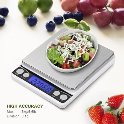 Multifunctional LCD Electronic Digital 0.1G/0.01G Jewelry Weight Scales RT