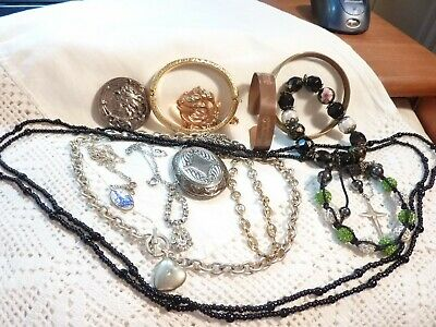 job lot mixed jewellery 14 items old & modern grab a bargain buy now
