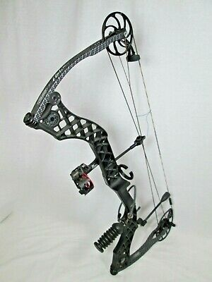 Mathews Heli m compound Bow Helim RH 60-70# Black 29.5""