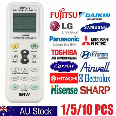 New Universal LCD A/C Control Remote Controller LCD Screen For Air ConditionerRT