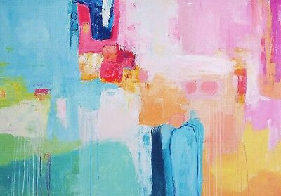 Modern Art Fashion Abstract Hand-Painted Oil Painting Home Deco Wall On Canvas