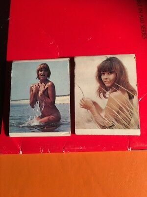 VINTAGE HANNA MATCH Collectable MATCH BOX X 2. Used.