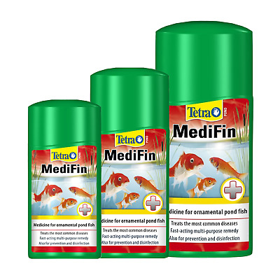 Tetra Pond Medifin - Garden Fish Medicine Treatment for Bacteria & Parasites