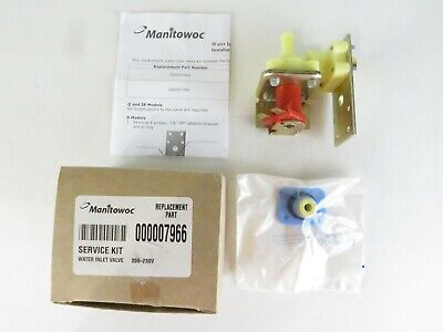 000007966 MANITOWOC Replacement 208//230 Volt Water Inlet Valve Free Sam Day Ship