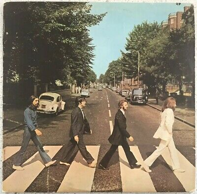 The Beatles Abbey Road - Apple Records 1969 Vinyl LP - SO 383 Nice Condition