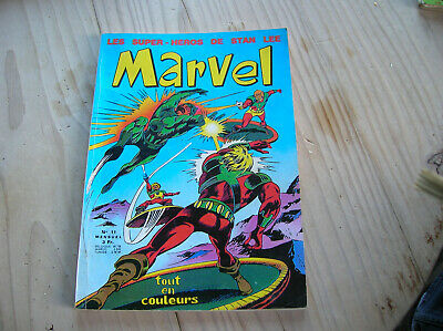 COMICS  MARVEL NUMERO 11    1971 (oh)