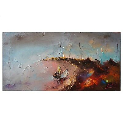Abstract 100% Hand-Painted Oil Painting Wall Fashion Home Decor Art On Canvas