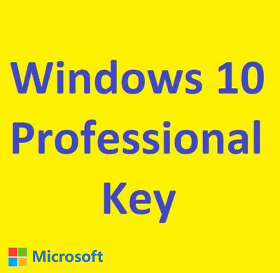 Windows 10 Professional Activate Online Win 10 Pro Key Instant Ship 32/64 Bits