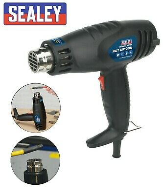 Heavy Duty 2000W Hot Air Heat Gun Paint Wallpaper Stripper Remover In Case