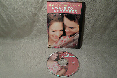 A Walk to Remember (DVD, 2007) Shane West, Mandy Moore (Widescreen)