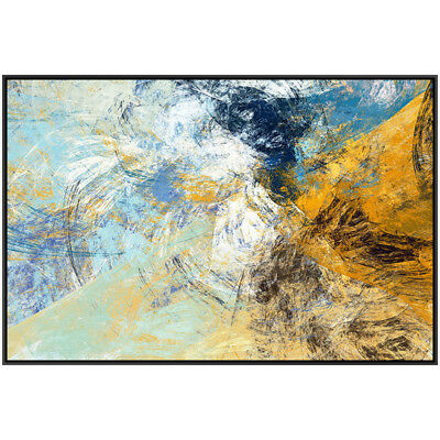 Modern Home Decor On Canvas Art Wall Fashion Abstract Hand-painted Oil Painting