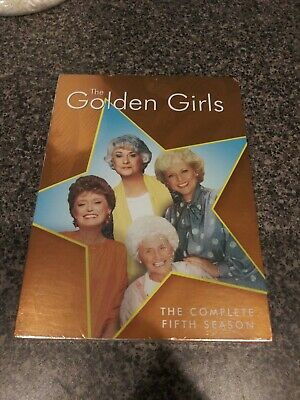 The Golden Girls The Complete Fifth Season DVD Set New Sealed Free Shipping