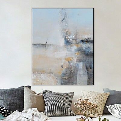 Abstract Simple Hand-Painted Oil Painting Fashion Home Decor Art Wall On Canvas