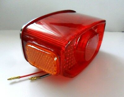 Yamaha Chappy Lb50 Lb80 Lb 50 80 Rd Fs1 Feu Rouge Arriere Cabochon Rear Light