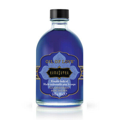 KamaSutra - Huile Massage - Kamasutra Oil of Love Sugared Berry - Violet