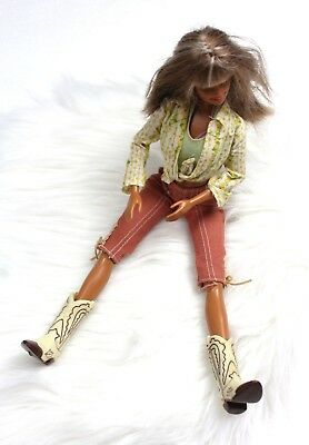 MATTEL BARBIE 1999 VINTAGE COLLECTIBLE - Western Barbie Cowgirl Cali Girl Doll
