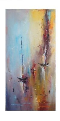 Large Modern Hand-Painted Oil Painting Abstract Home Decor Art On Canvas Wall